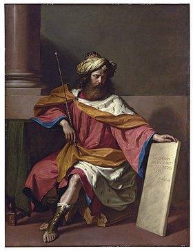 G. Francesco (Guercino) Barbieri: König David