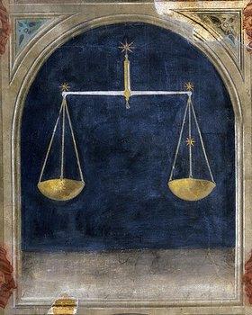 Giotto di Bondone: Sternzeichen Waage