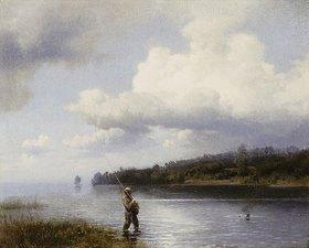 Hermann Herzog: Der Fliegenfischer