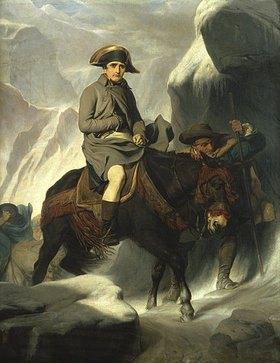 Paul Delaroche: Napoleon beim Überqueren der Alpen