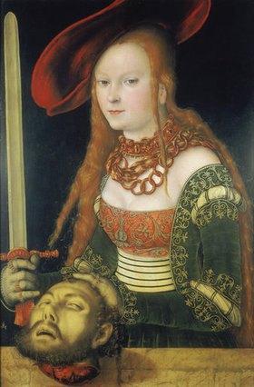 Lucas Cranach d.Ä.: Judith mit dem Haupt des Holofernes