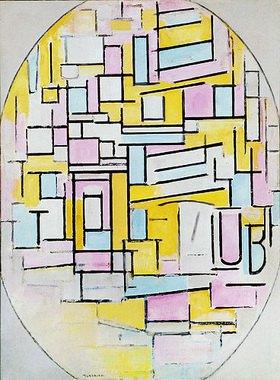 Piet Mondrian: Ovale Komposition