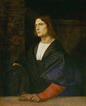 Tizian (Tiziano Vecellio): Bildnis eines Jünglings