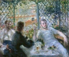 Auguste Renoir: Die Mahlzeit im Restaurant Fournaise (Das Mittagessen der Ruderer)