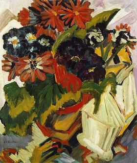 Ernst Ludwig Kirchner: Blumentopf und Zuckerdose