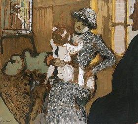 Edouard Vuillard: Kind in einer weißen Schürze