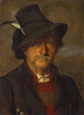 Franz von Defregger: Ein Tiroler Bauer