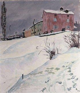 Giovanni Giacometti: La Casa Rossa