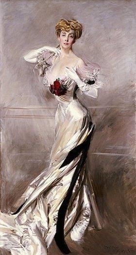 Giovanni Boldini: Portrait der Gräfin Zichy
