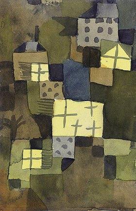 Paul Klee: M. D. Gelben Fenstern