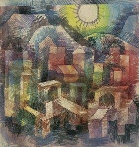 Paul Klee: Abend in Bol
