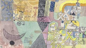 Paul Klee: Asiatische Gaukler