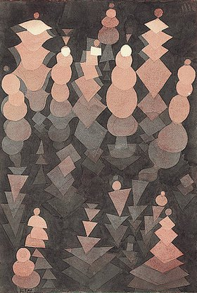 Paul Klee: Reifendes Wachst