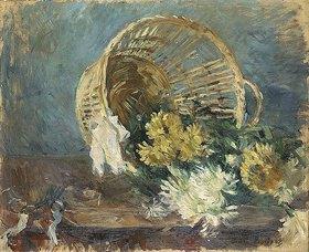 Berthe Morisot: Chrysanthemen oder der umgefallene Korb