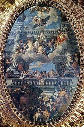 Paolo (Paolo Caliari) Veronese: Die Apotheose Venedigs