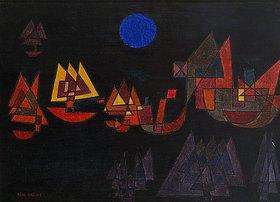 Paul Klee: Schiffe im Dunkeln