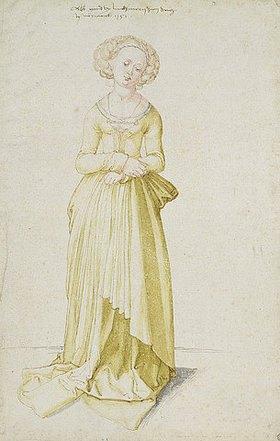 Albrecht Dürer: Nürnberger Mädchen im Tanzkleid