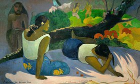 Paul Gauguin: Vergnügungen des bösen Geistes (Arearea no vareua ino)