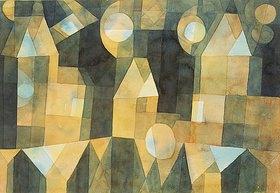 Paul Klee: Drei Häuser an der Brücke