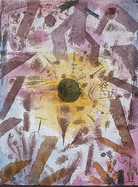 Paul Klee: Sonnenfinsternis