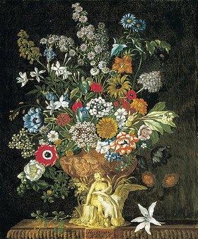 Pieter Casteels III: Die zwölf Monate. Ein floraler Kalender - November