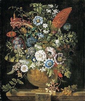 Pieter Casteels III: Die zwölf Monate. Ein floraler Kalender - August