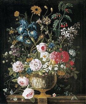 Pieter Casteels III: Die zwölf Monate. Ein floraler Kalender - Juni