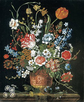 Pieter Casteels III: Die zwölf Monate. Ein floraler Kalender - März