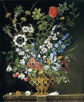 Pieter Casteels III: Die zwölf Monate. Ein floraler Kalender - Februar