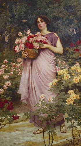 Richard Willes Maddox: Im Rosengarten