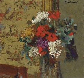 Edouard Vuillard: Geranien und Schneeball-Pflanze