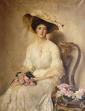 John Henry Frederick Bacon: Portrait einer Dame
