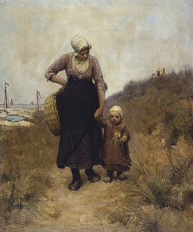 Bernardus Johannes Blommers: Mutter und Kind