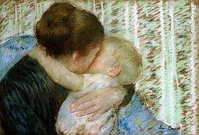 Mary Cassatt: Der Gute-Nacht-Kuss