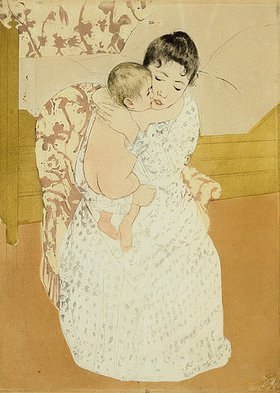 Mary Cassatt: Mutterliebe