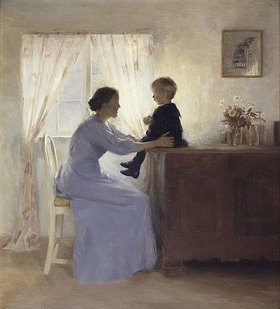 Peter Ilsted: Mutter und Kind
