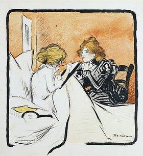Théophile-Alexandre Steinlen: Das Diktat