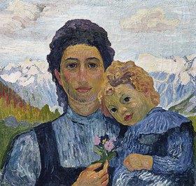 Giovanni Giacometti: Annetta und Alberto