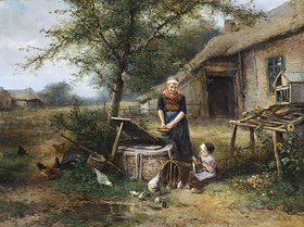 Mari (Johann M. Henri) Ten Kate: Auf dem Bauernhof