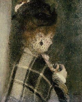 Auguste Renoir: Junge Frau mit Schleier