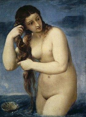 Tizian (Tiziano Vecellio): Venus Anadyomene