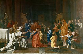 Nicolas Poussin: Die Firmung. Aus: Die sieben Sakramente