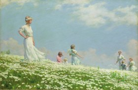 Charles Courtney Curran: Sommer