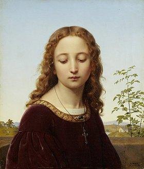 Ernst Deger: Bildnis eines jungen Mädchens