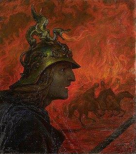 Hans Thoma: Der Krieg