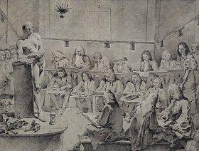 Giovanni Battista Tiepolo: In der Akademie: Künstler beim Aktzeichnen