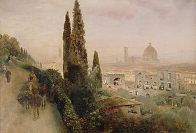 Oswald Achenbach: Florenz
