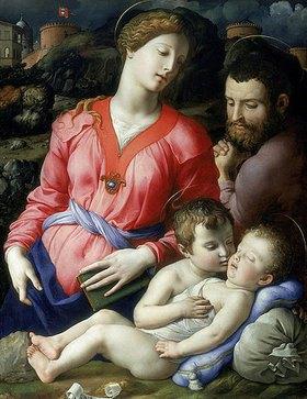 Agnolo Bronzino: Heilige Familie Panciatichi