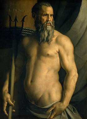 Agnolo Bronzino: Bildnis von Andrea Doria als Neptun