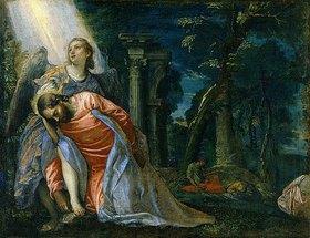 Paolo (Paolo Caliari) Veronese: Jesus im Garten Gethsemane